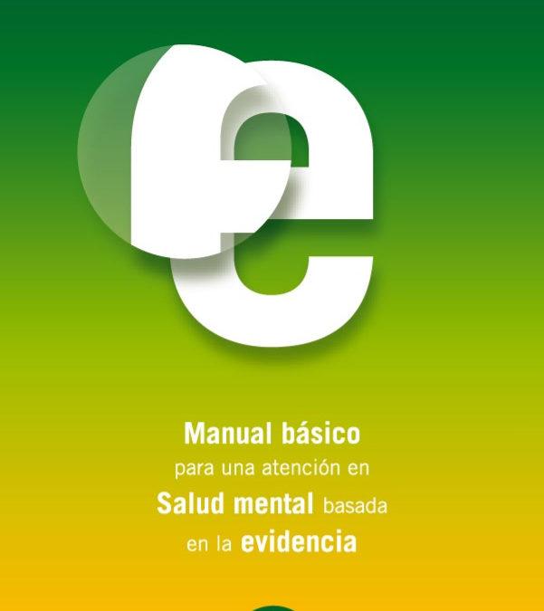 Manual básico para una atención en salud mental basada en la evidencia